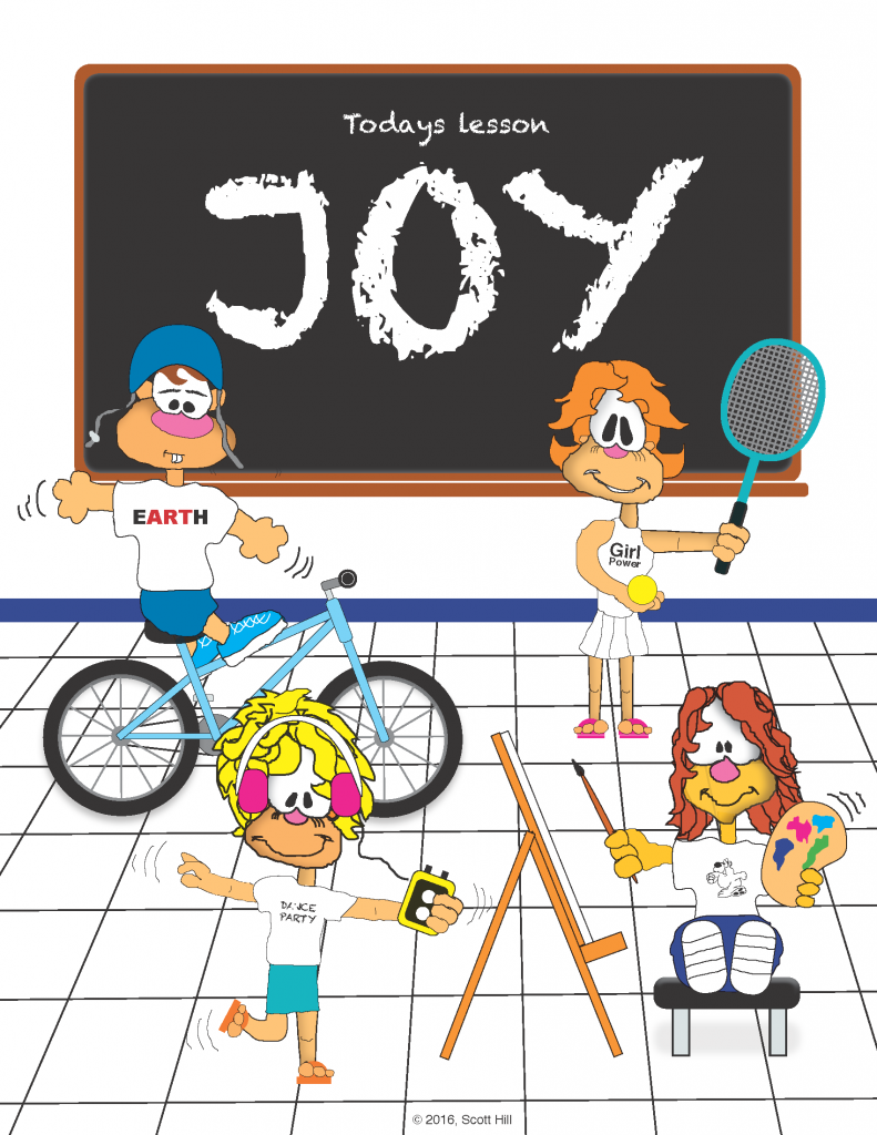 joy cartoon